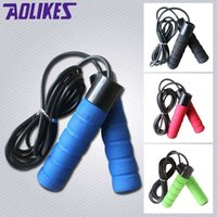 Wholesale New Weight Skipping Rope Steel Bearing M PVC Speed Jump Rope Crossfit combas Fitness lose weight Bodybuilding Equipments