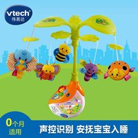 Wholesale Vtech colorful bee music bell VTech bed bed bell rotary baby bell newborn toy
