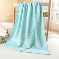 baby jacquard yarn - 90 Pure Natural Xinjiang Long staple Cotton Polyester cm S gsm Jacquard Weave Mushroom Soft Twist Yarn Bath Towel