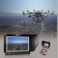 Wholesale Wireless Monitor Lilliput inch W High quality Slim HD IPS Monitor GHz for FPV Aerial Flying Phantom HDMI Camer