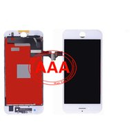 assembly components - High Quality AAA iPhone LCD Touch Screen Display Digitizer Components and Frames Complete Assembly Replacement Black White iPhone7 lcd