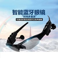 Wholesale Bluetooth smart headset MP3 one eye lens two riding Polarized Sunglasses Fully compatible for Public fashion business old man use
