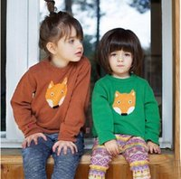 baby girl cardigan knitting pattern - 2016 Sale Children Sweater Baby Girls Boys Pullovers Children Top Clothes Fox Knitted Pattern Sweater Kids Clothing Outwear