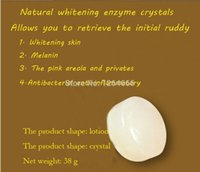 Wholesale HOT SELL Natural Skin Whitening Soap Enzyme Crystal Pink Areola And Privates g Private Parts Of Bath Soap
