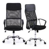 Wholesale IKAYAA Ergonomic Mesh Adjustable Office Executive Chair Stool High back Swivel Computer Task Chair Office Furniture US STOCK H16675
