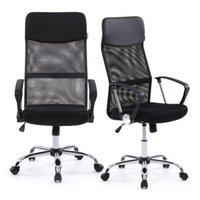 adjustable back chair - IKAYAA Ergonomic Mesh Adjustable Office Executive Chair Stool High back Swivel Computer Task Chair Office Furniture US STOCK H16675