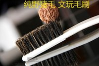 Wholesale Man playing walnut tool manual brush bristle brush Kit pulp Bodhi olive oil cleanup