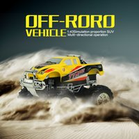 Wholesale No New Arrival Radio Control Car RC Off Road CH RC WD High Speed Electric RC Car Off Road Vehicles Model