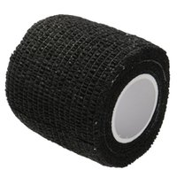 adhesive dressing tape - New Easy Tear Self Adhesive Ankle Body Care Elastic Bandage Gauze Dressing Tape Black