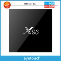 Wholesale 2G G X96 S905X TV BOX K Android6 Amlogic S905X Quad Core H Media Player KODI Marshmallow GHz Wifi Miracast Airplay DLNA VS MXQ