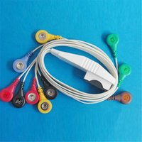 Wholesale Holter Cable Patient Leads for Mortara Holter Cable and Leadwires with Lead AHA Snap OEM Support CMD0156A