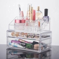 best choice displays - 2016 New Makeup Cosmetic Organizer Storage Box Holder Display Acrylic Jewelry Drawer Case YOUR BEST CHOICE