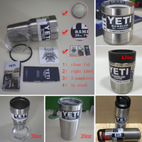 aluminum trays - 2016 kylie yeti cups Bilayer Stainless Steel Insulation Cup oz oz Cups Cars Beer Mug Large Capacity Mug Tumblerful