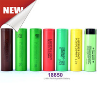 Wholesale Authentic Rechargeable Batteries VTC R HE4 HG2 HE2 Rechargeble Battery V From Korea Fedex Free