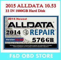 Cheap 2016 newest alldata software 10.53 mitchell on demand ect full set 49in1 1tb hdd for all cars newest version 3.0usb