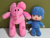 Wholesale Pocoyo inch Pocoyo Elly Soft Plush Stuffed Figure Toy Doll toys Retail