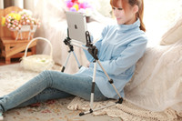 Wholesale Adjustable Foldable Tripod Stand Holder Bracket Cradle For iPad Tablet PC Drop Shipping