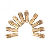 Wholesale Hot Set mm Small Electric Drill Bit Chucks Micro Drills Chuck Set QH