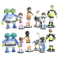 best mile - 6pcs Anime Cartoon Miles From Tomorrowland PVC Figures Model Toys Kids Toys Action Figures Doll Toys Best Gift for CHildren