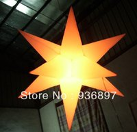 Wholesale inflatable decoration star led inflatable star