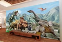 ancient chinese entertainment - 3d room wallpaer custom mural non woven photo Ancient Jurassic dinosaurs decoration painting picture d wall murals wallpaper for walls d