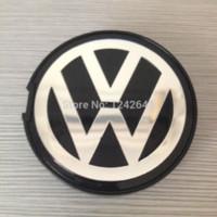 Wholesale 100 X mm Wheel Centre Center Cap Caps Car Badge Emblem for VW Polo Touran Golf MK4 MK3 Passat Lupo Bora Jetta