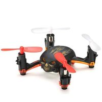 Wholesale Cartoon D Mini Skull Unmanned Aerial Vehicle LED Light Remote Control Toy Planes G Four Axis Aircraft Halloween Christmas Gifts