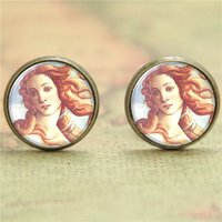 american venus - 10pairs Romance earring Birth of Venus by Botticelli earring Print Photo Classic Jewelry earring