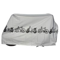 Wholesale UV protector cover dustproof Bike Rain Dust Cover Waterproof Outdoor Gray For Bike Bicycle Cycling