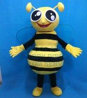 bee kits - Anime Cosply Costumes Spring Bee Mascot Costume Custom Cartoon LITTLE BEE Theme Mascottes Carnival Fancy Dress Kits