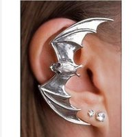 bat clip - 144ear cuff popular in Europe and America trade jewelry earrings ear clip earrings bat y
