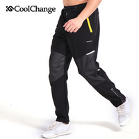 Wholesale CoolChange Winter Outdoor Sports Cycling Ciclismo Bicycle Casual Artificial velvet Pants Bike Reflective Pants Motion pants