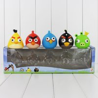 action figure customizing - The new angry bird lovely kawai cute birds colored bird action figure customized gifts