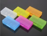 acrylic box case - DHL Fast shipping for Plastic Battery Case Portable battery storage box plastic battery case box Battery Case Acrylic Box