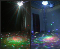 Wholesale Led laser crystal magic ball lamp universe KTV room pattern effect lamp bar disco wedding Christmas