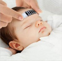 Wholesale 2015 New Kids A Forehead Strip Thermometer Fever Body Test Baby Temperature temperature centigrade