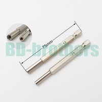 Wholesale 75mm Longer safety Bit Screwdriver Gamebit mm mm Bits for Nintendo NGC SFC MD NES N64 SNES Gameboy Open Tool