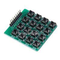 Wholesale 4x4 Matrix Keypad Keyboard Module Button Mcu for Arduino E5M1 order lt no track