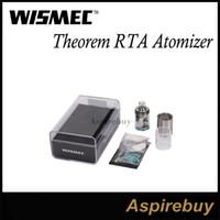 Wismec Teorema RTA Reconstruible tanque atomizador con el diseño de la tapa de llenado y estructura desmontable Wismec Teorema del tanque libre de DHL 100% original
