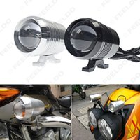 Wholesale Waterproof Motorcycle W V CREE U2 LED Laser Cannon Headlight Spot Strobe Driving Fog Light Lamp