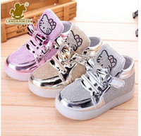 baby designer sports shoes - 2016 New Designer Children s Running Mesh Sneakers with Light Girls Boys Breathable Original Kids Shoes Baby Outdoor Sports Shoe