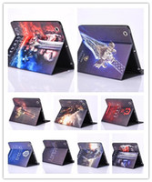 air war games - war carft fightting for horde computer Game Carton Stand leather case TPU cover for Ipad air2 air mini4 mini retina