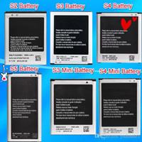 Wholesale Can Mixed Order High Quality Phone S5 S4 S4 Mini S3 S3 Mini S2 Battery For Samsung Galaxy I9600 I9500 I9190 I9300 I8190 I9100 AkkuAccu