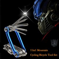 Wholesale Firstrun Mini Repair Pocket Folding Tool in Bicycle Moutain Road Bike Tool Set Cycling Multifuction Repair Tools Kit Wrench