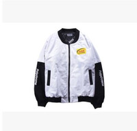 baseball fashion clothing - Sell like hot cakes clothing popular logo baseball jacket Japaneseport of harajuku fashion wind restoring ancient ways bomber jackets MA1
