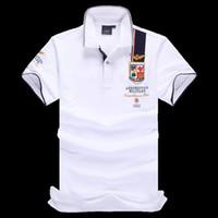 Wholesale High quality Polo Shirt polo homme Aeronautica Militare Short sleeve man Brands polo ralphmen sport shirt large size