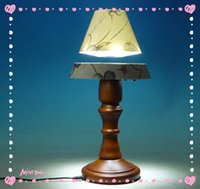 Wholesale 5 dhl free Hot sale Magnetic decoration lamp home decoration accessories magnetic floating table lamp