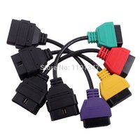 Wholesale NEW Alfa Fiat ECU Scan Diagnostic Cables Leads for MultiECUScan FiatECUScan Fiat Alfa Romeo and Lancia