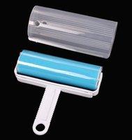 Мода Горячие Super Sticky моющийся пыли Lint Roller с крышкой для Fluff Pet волос Пыль Remover Lint наклеивания пыление Roller