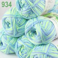 aqua bamboo - of skeins Soft Natural Smooth Bamboo Cotton Yarn Knitting Aqua Mint blue